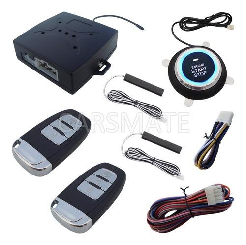 Botón Sistema De Encendido Remoto Para Carro + Alarma
