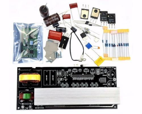 Kit Transformar Retificador Onda Senoidal Pura 2k Em 4k