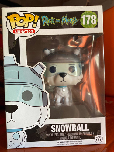 Funko Pop Snowball 178 Rick And Morty