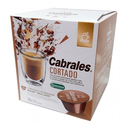 Cápsulas De Café Cortado Cabrales 14u
