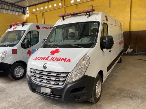 Renault Master  L3h2 Ambulancia Simples Remoçao