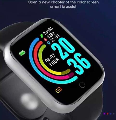 Relógio Inteligente Smartwatch Com Monitor Cardíaco Fitpro