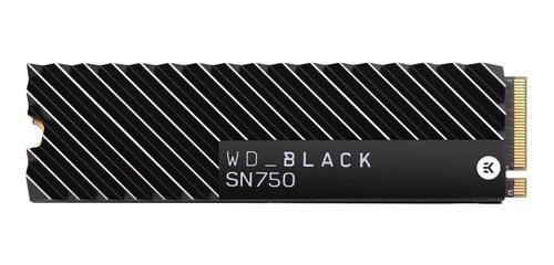 Disco Sólido Interno Western Digital Wd Black Sn750 Wds200t3xhc 2tb Negro