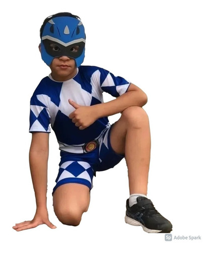 Fantasia Infantil Power Ranger Preto - Festa, Criança