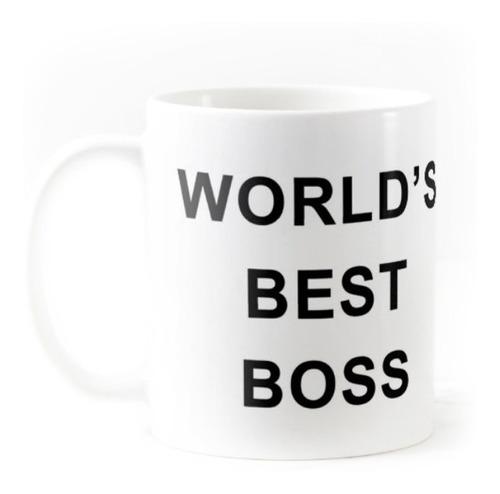 Taza The Office World's Best Boss Michael Scott Cerámica