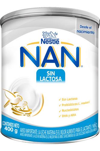 Nan Sin Lactosa 400g