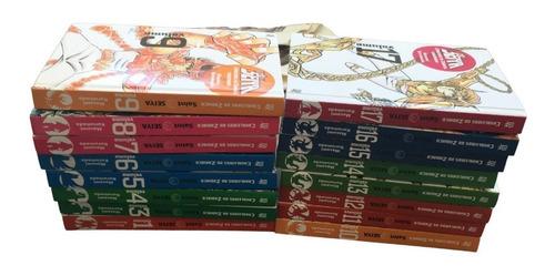 Manga Kanzenban Cavaleiros Do Zodiaco Vol. 1 E Do 3 Ao 17