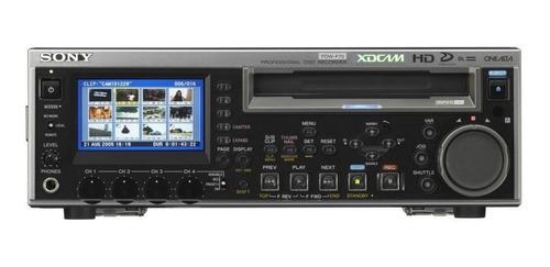 Xdcam - Sony - Pdw-f70 - Gravador De Disco