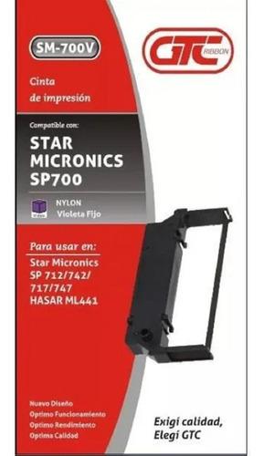 25 Cintas Imp. Fiscal Star Micronics Sp 712 710 Hasar Ml441