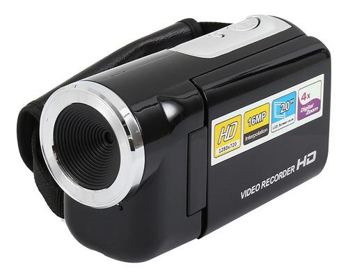 Câmera De Vídeo Digital Portátil 2.0 16mp 4x Zoom Camcord