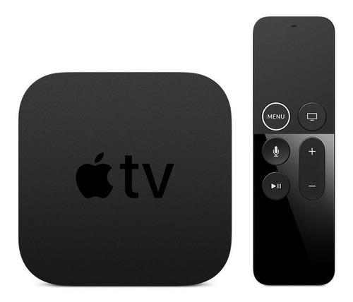 Apple Tv 4k 64gb A1842 Mp7p2bz/a Preto Original Nota Fiscal
