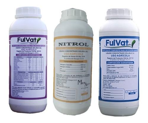 Abono Kit Full Reforzado En Nitrógeno, Fósforo Y Potasio