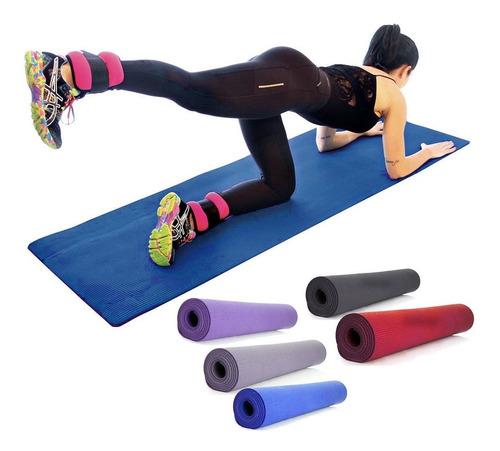 Tapete Colchonete Yoga Pilates Fitness Ginastica 170x60cm