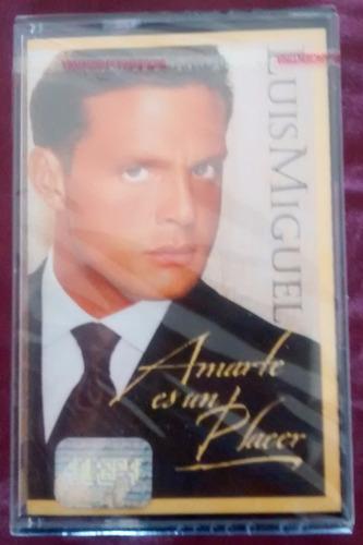 Cassette - Luis Miguel - Nuevo Sellado - Amarte Es Un Placer
