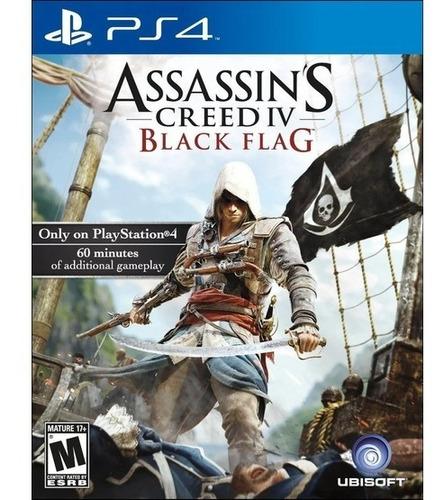 Assassin's Creed Iv Black Flag Ps3 Usado