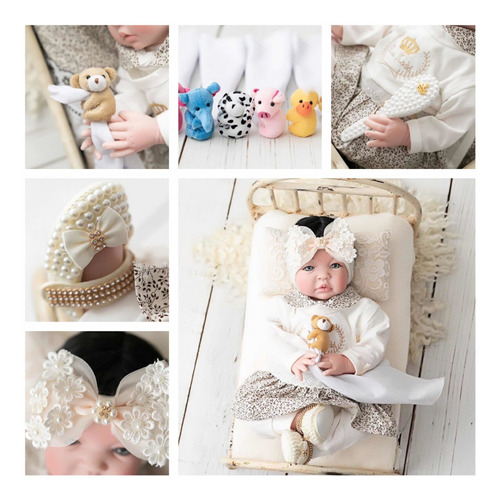 Boneca Menina Bebê Reborn Mais Barata 53cm Princesa