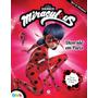 Livro Infantil Ladybug Diversão Em Paris