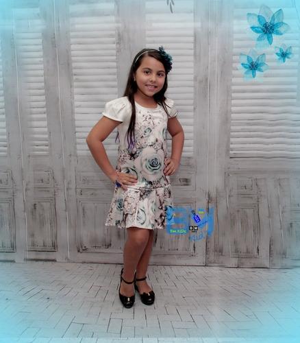 Bmkids Vestido Infantil Tam 08