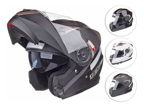 Capacete Gladiador Moto Texx Gladiator Articulado Robocop