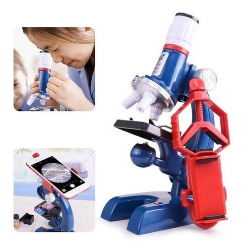 Microscópio Infantil Brinquedo Educativo Pedagógico Experiên