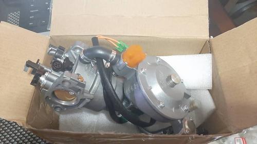 Carburador Dual Gasolina-gas Para Plantas Electr. 5.5-12kva