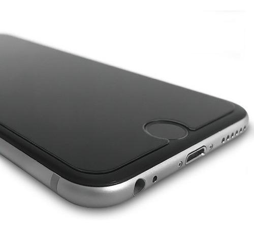 Mica Vidrio iPhone 6 / 7 / 8 Cristal Templado 9h Protector c/ Paños Limpiadores - Ecart