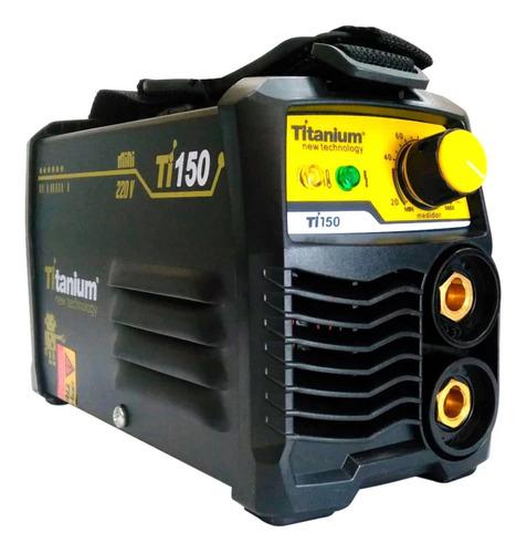 Máquina De Solda Inverter Titanium Ti150 220v