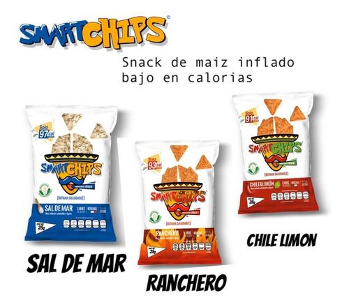Smartchips Snack Botana Saludable Caja Surtida   20 Pz