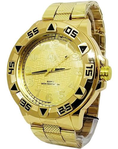 Relógio Masculino Robusto Barato Original Dhp Aprova D'água