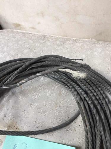 Cable De Acero De 1/4 Alma Textil