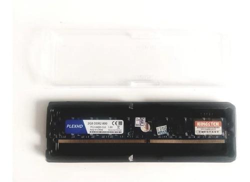 Memoria Ddr2 2gb 800mhz Plexhd Nova Cod 3962