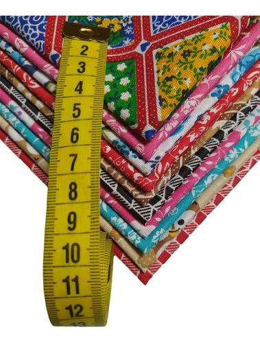 Kit Tecido Patchwork 50% Algodão - 10 Cortes De 50x70cm
