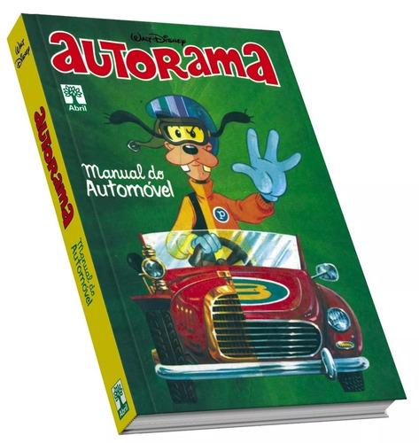 Livro Coleção Hq Manual Disney Do Automóvel Autorama Novo