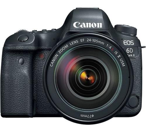 Canon Eos 6d Mark Ii Lente Ef 24 105mm F/4l Is Ii Usm