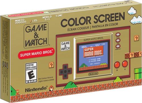 Console Game & Watch Super Mario Bros Nintendo Game Watch