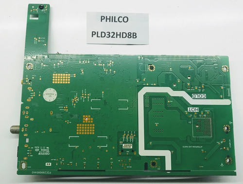Placa Main Y Fuente Tv Philco Pld32hd8b Cod 5844-a3m23b-1p10
