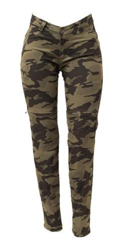 Calça Jeans Hlx Com Proteção Camu Force Feminina