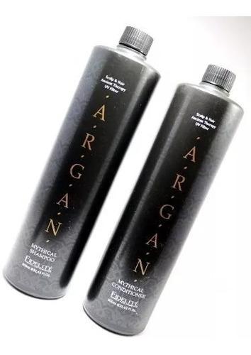 Shampoo Y Acondicionador Fidelite Argan 900 Ml Profesional