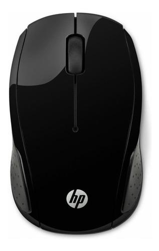 Mouse Sem Fio Hp  X200 Preto