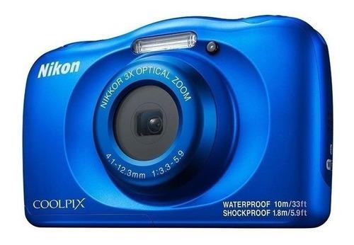Nikon Coolpix W150 Compacta Cor  Azul