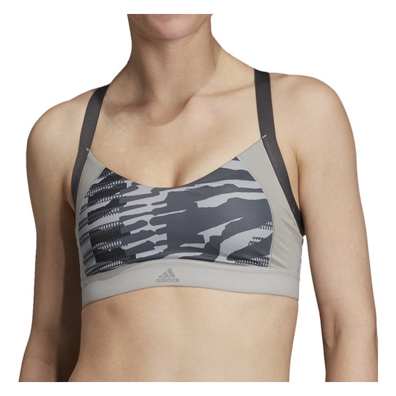 Top adidas Training All Me Iteration Bra Mujer Gr/go
