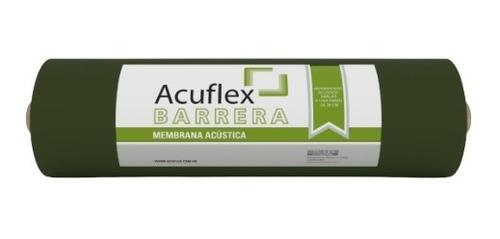 Rollo Membrana Asfáltica Barrera Acústica 4 Mm Acuflex 5 Mts