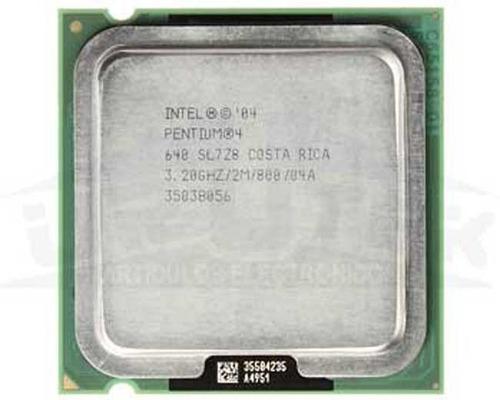 Procesador Pentium 4 3.2 Ghz Socket 775 Ht