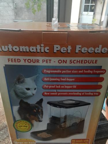 Dispensador Alimento Automático Programable Perro Y Gato