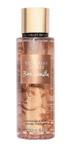 Victoria Bare Vanilla 250ml Colonia Dkn Perfumeria Spa