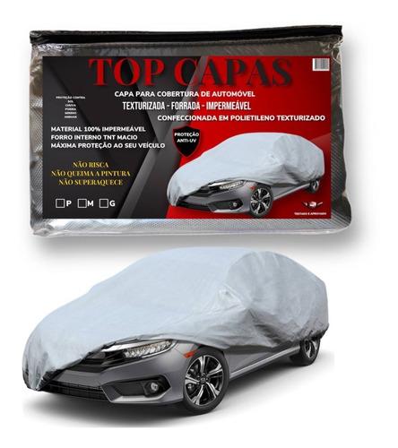 Capa Cobrir Carro Proteger Sol / Chuva Forrada 100% Original