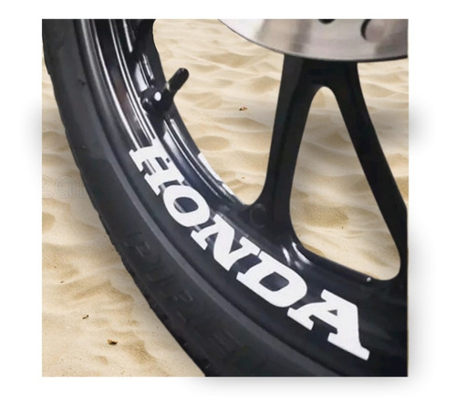 8 Adesivo Premium Roda Honda Titan Fan Start 125 150 160