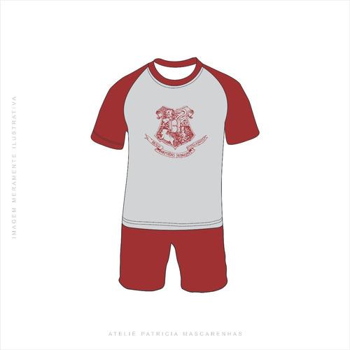 Pijama Harry Potter(adulto, Inafntil, Longo, Curto E Regata)