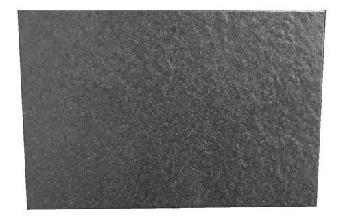 Ceramico 35x60 Basalto Grafito 2da Cortines Piso Piedra