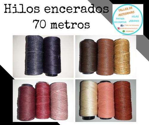 Hilo Encerado 70 Metros - 2 Unidades